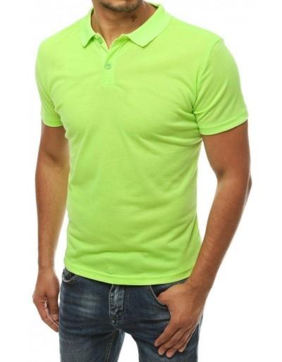 Pánská limetkově zelená polokošile PX0310