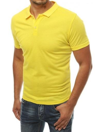 Pánská žlutá polokošile PX0314