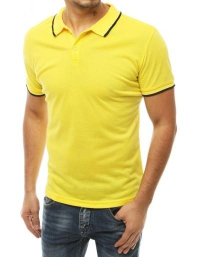 Pánská žlutá polokošile PX0315