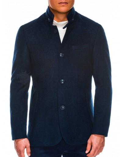 Pánský podzimní kabát C427 - námořnická