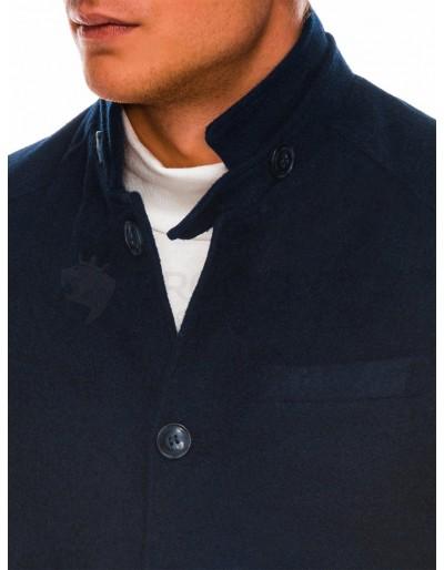 Men's autumn coat C427 - navy