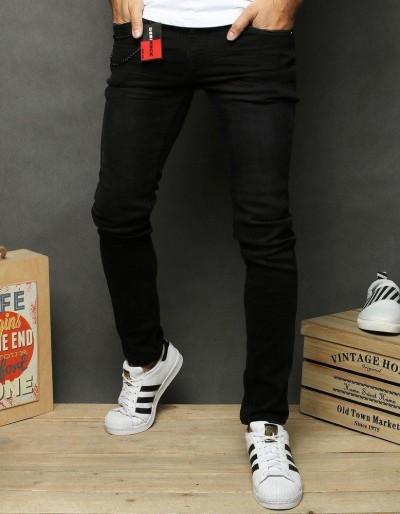 Černé pánské džínové kalhoty UX2654
