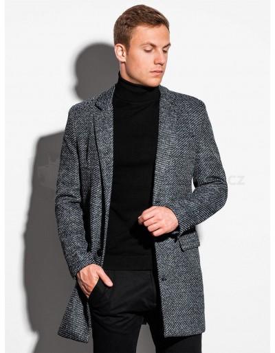 Pánský kabát C431 - šedý