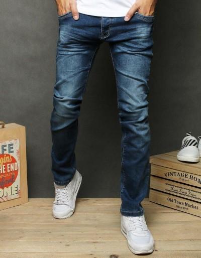 Pánské modré džínové kalhoty UX2656