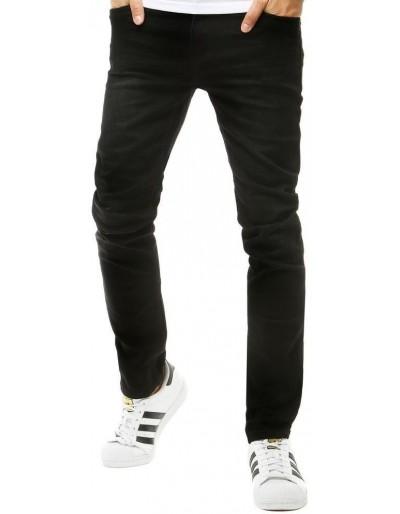 Černé pánské džínové kalhoty UX2657