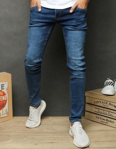 Pánské modré džínové kalhoty UX2658