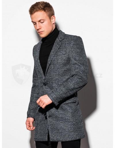 Men's coat C431 - grey