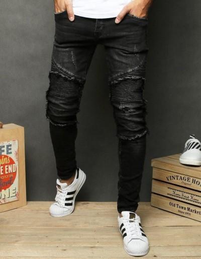 Šedé pánské džínové kalhoty UX2665