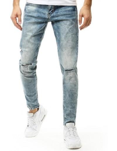 Pánské modré džínové kalhoty UX2667