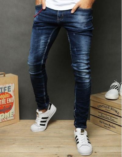 Tmavě modré pánské džíny UX2673