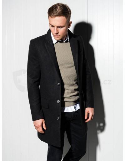 Pánský kabát C432 - černý