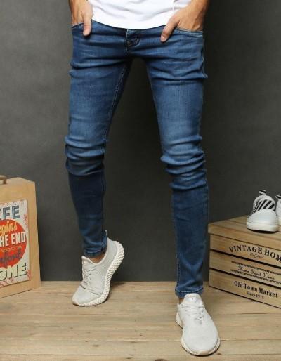 Pánské modré džínové kalhoty UX2677