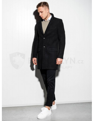 Men's coat C432 - black