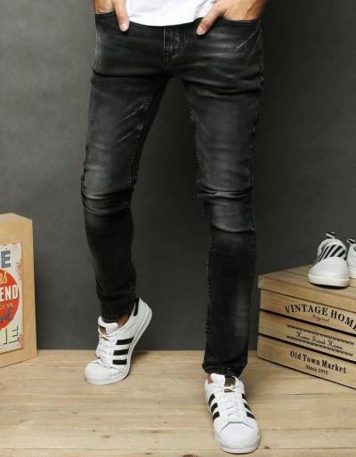 Černé pánské džínové kalhoty UX2680