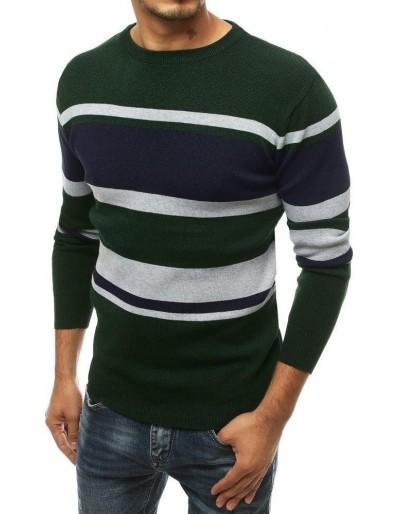 Zelený pánský svetr WX1490