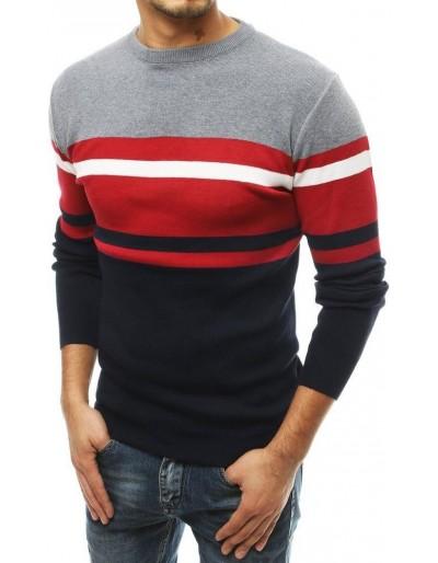 Pánský svetr, tmavě šedý WX1496