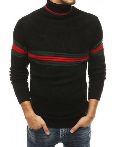 Černý pánský svetr WX1502