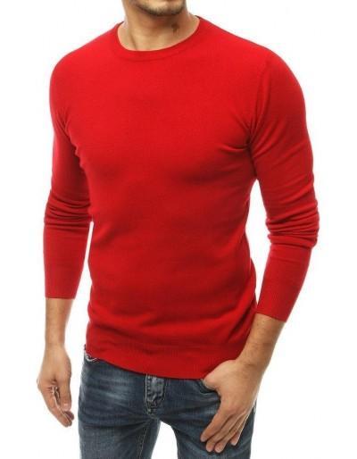 Červený pánský svetr WX1506