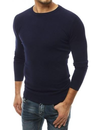 Pánský tmavě modrý svetr WX1508