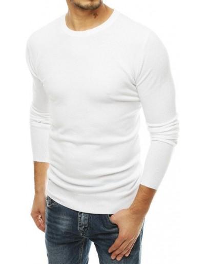 Bílý pánský svetr WX1509