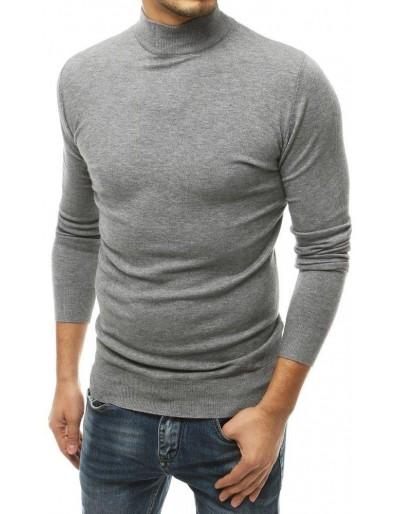Světle šedý pánský svetr WX1512