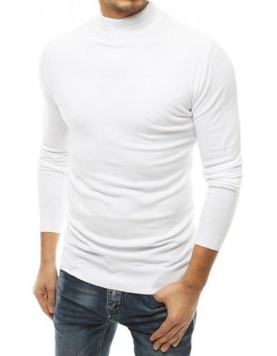 Pánský bílý svetr WX1515