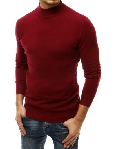 Pánský bordový svetr WX1517