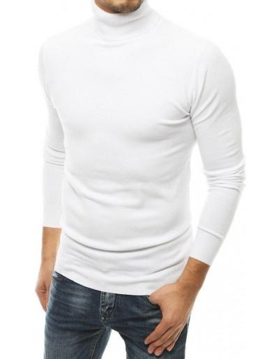 Pánský bílý svetr WX1526