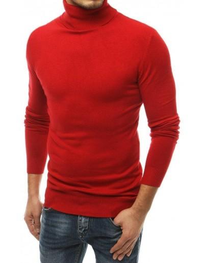 Červený pánský svetr WX1527