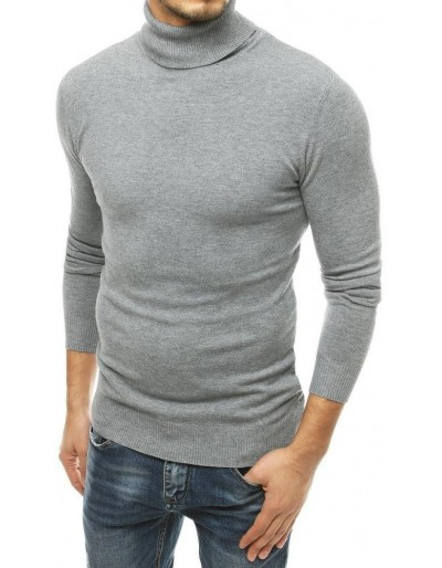 Světle šedý pánský svetr WX1531