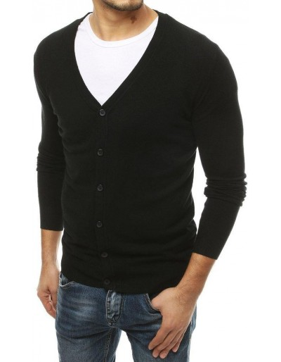 Černý pánský svetr WX1540