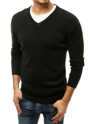 Pánský svetr s výstřihem do V, výstřih do V, WX1547