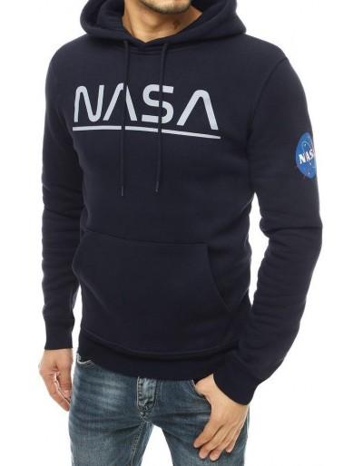 Námořnická modrá pánská mikina NASA BX4782