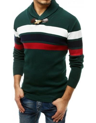 Zelený pánský svetr WX1556
