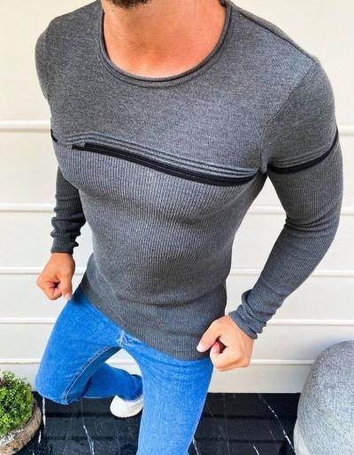 Pánský svrchní svetr antracit WX1624