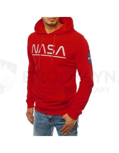 Pánská mikina NASA červená BX4595