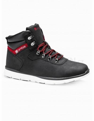Men's winter shoes trappers T312 - black