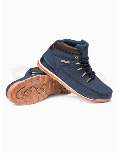 Men's winter shoes trappers T313 - navy