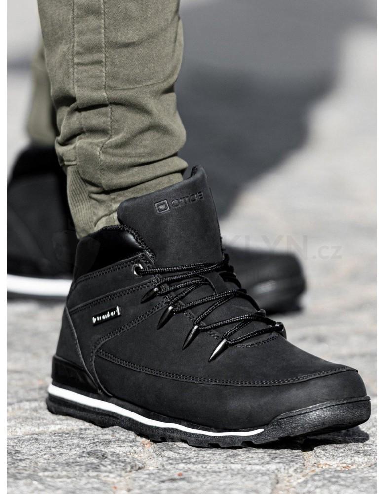 Lapače pánské zimní obuvi T313 - černé