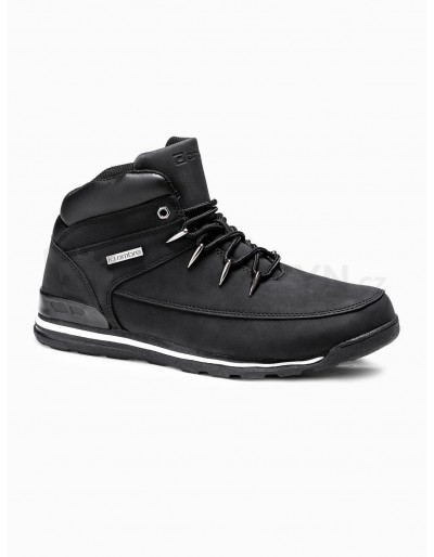 Men's winter shoes trappers T313 - black