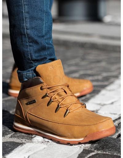 Lapače pánské zimní obuvi T313 - béžové