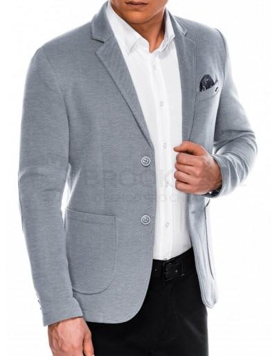 Men's casual blazer jacket M56 - grey
