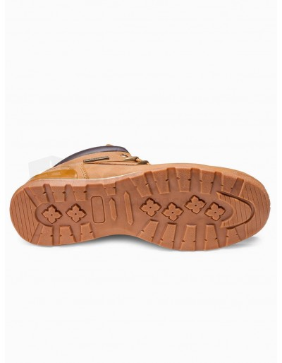 Men's winter shoes trappers T313 - beige