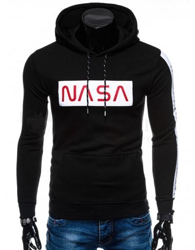 Pánská mikina Nasa- černá
