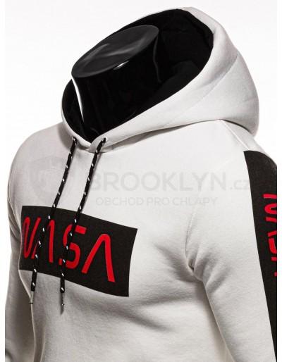Men's hoodie B1164 - ecru