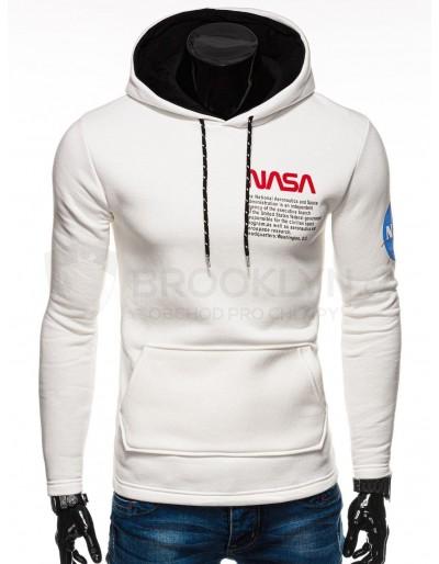 Men's hoodie B1163 - ecru