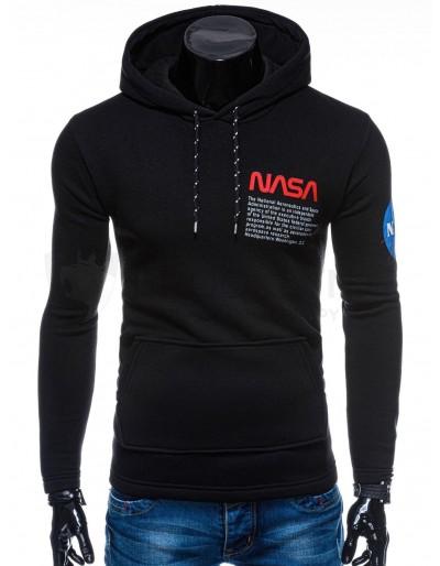 Men's hoodie B1163 - black