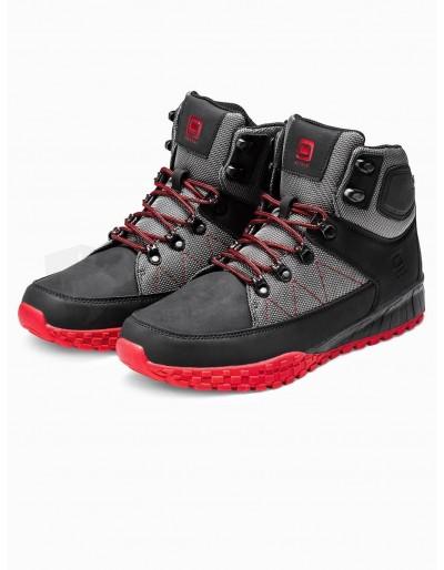 Men's winter shoes trappers T315 - black