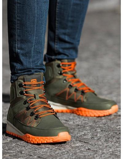 Lapače pánské zimní obuvi T315 - zelené
