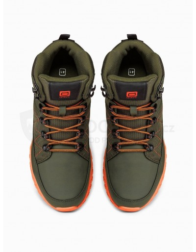 Men's winter shoes trappers T315 - green